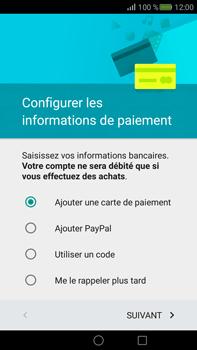 Huawei Mate S - Applications - Créer un compte - Étape 16