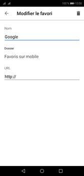 Huawei P20 - Internet et roaming de données - Navigation sur Internet - Étape 10