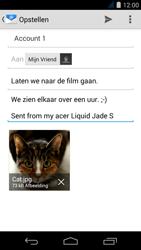 Acer Liquid Jade S - E-mail - e-mail versturen - Stap 15