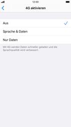 Apple iPhone 7 - iOS 13 - Netzwerk - So aktivieren Sie eine 4G-Verbindung - Schritt 6
