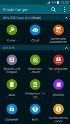 Samsung G850F Galaxy Alpha - Software - Installieren von Software-Updates - Schritt 5