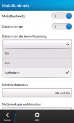 BlackBerry Z10 - Internet und Datenroaming - Deaktivieren von Datenroaming - Schritt 7