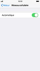 Apple iPhone 5s - iOS 12 - Réseau - Sélection manuelle du réseau - Étape 5