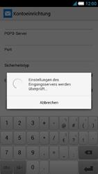 Alcatel One Touch Idol S - E-Mail - Manuelle Konfiguration - Schritt 16