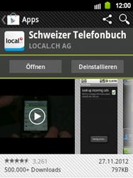 Samsung Galaxy Y - Apps - Installieren von Apps - Schritt 10