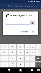 Sony Xperia XZ Premium - Android Oreo - Messagerie vocale - configuration manuelle - Étape 11