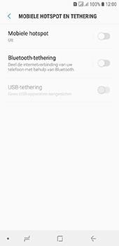Samsung galaxy-j6-sm-j600fn-ds - WiFi - Mobiele hotspot instellen - Stap 6