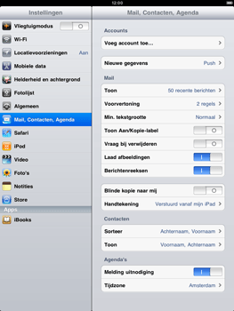 Apple iPad 2 - E-mail - Handmatig instellen - Stap 3