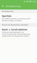Samsung G389 Galaxy Xcover 3 VE - Anrufe - Anrufe blockieren - Schritt 7