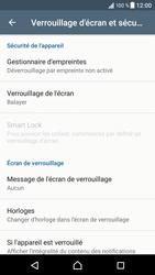 Sony Xperia XZ (F8331) - Sécuriser votre mobile - Activer le code de verrouillage - Étape 5