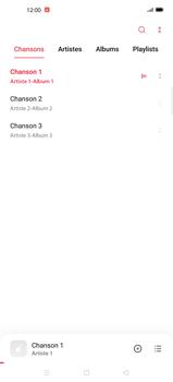 Oppo Find X2 Pro - Photos, vidéos, musique - Ecouter de la musique - Étape 6