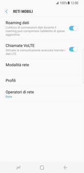 Samsung Galaxy S8 - Internet e roaming dati - Disattivazione del roaming dati - Fase 6