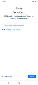 Samsung Galaxy A70 - Apps - Einrichten des App Stores - Schritt 5