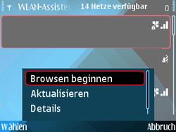 Nokia E71 - WLAN - Manuelle Konfiguration - Schritt 7