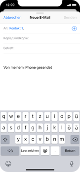 Apple iPhone XS - E-Mail - E-Mail versenden - 6 / 16