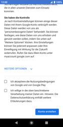 Sony Xperia XZ2 Compact - Android Pie - Apps - Konto anlegen und einrichten - Schritt 16