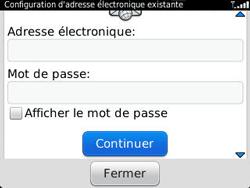 BlackBerry 9320 - E-mails - Ajouter ou modifier un compte e-mail - Étape 8