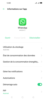 Oppo A72 - Applications - Supprimer une application - Étape 7