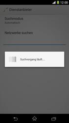 Sony Xperia Z1 - Netzwerk - Manuelle Netzwerkwahl - Schritt 7