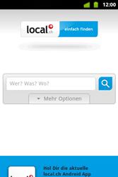 Alcatel OT-983 - Internet und Datenroaming - Verwenden des Internets - Schritt 14