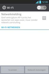 LG E610 Optimus L5 - Wifi - handmatig instellen - Stap 4