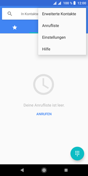 Sony Xperia L3 - Anrufe - Rufumleitungen setzen und löschen - Schritt 5