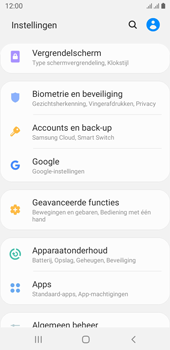 Samsung galaxy-j6-sm-j600fn-ds-android-pie - Instellingen aanpassen - Back-up maken in je account - Stap 4