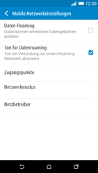 HTC One M8 - Netzwerk - Manuelle Netzwerkwahl - Schritt 5