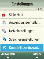 Samsung F480-TouchWiz - Fehlerbehebung - Handy zurücksetzen - Schritt 6
