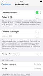 Apple iPhone 6 Plus iOS 8 - Internet et roaming de données - Comment vérifier que la connexion des données est activée - Étape 5