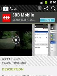Samsung Galaxy Y - Applications - Installing applications - Step 19