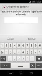 Sony Xpéria E3 - Sécuriser votre mobile - Activer le code de verrouillage - Étape 8
