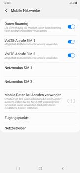 Samsung Galaxy Note 20 Ultra 5G - Internet und Datenroaming - Deaktivieren von Datenroaming - Schritt 6