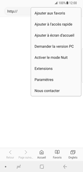 Samsung Galaxy S8 - Android Oreo - Internet et roaming de données - Configuration manuelle - Étape 23
