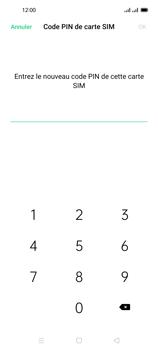 Oppo Reno 4 Pro - Sécuriser votre mobile - Personnaliser le code PIN de votre carte SIM - Étape 10