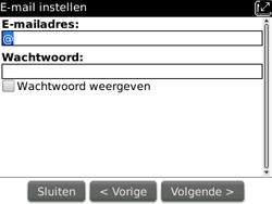BlackBerry 9300 Curve 3G - E-mail - Handmatig instellen - Stap 9