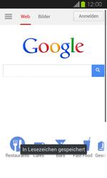 Samsung Galaxy Express - Internet und Datenroaming - Verwenden des Internets - Schritt 9