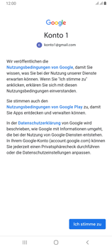 Samsung Galaxy A80 - E-Mail - Konto einrichten (gmail) - Schritt 11
