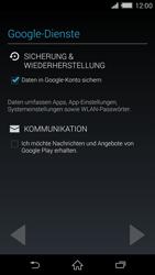 Sony Xperia Z2 - Apps - Konto anlegen und einrichten - Schritt 13