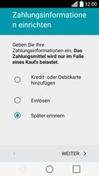 LG Leon 3G - Apps - Konto anlegen und einrichten - 18 / 20