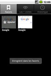 LG GW620 - Internet - navigation sur Internet - Étape 7
