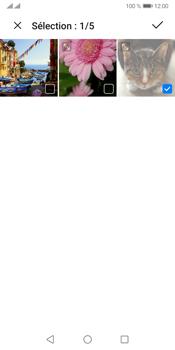 Huawei Y5P - Contact, Appels, SMS/MMS - Envoyer un MMS - Étape 18