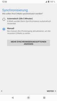 Sony Xperia XZ2 Premium - Android Pie - E-Mail - Konto einrichten - Schritt 19