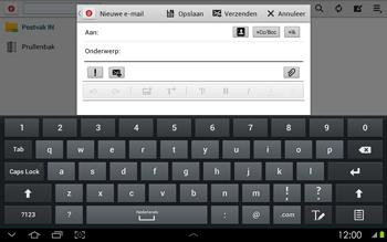 Samsung P5100 Galaxy Tab 2 10-1 - E-mail - Hoe te versturen - Stap 5