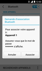 Huawei Ascend Y330 - Bluetooth - connexion Bluetooth - Étape 9