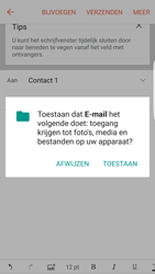 Samsung Galaxy S7 edge - E-mail - Hoe te versturen - Stap 12