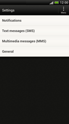 HTC Z520e One S - SMS - Manual configuration - Step 4