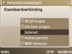 Nokia E72 - Internet - handmatig instellen - Stap 20