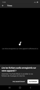 Samsung Galaxy Note 10 Lite - Photos, vidéos, musique - Ecouter de la musique - Étape 6