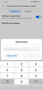 Huawei Y7 (2019) - Beveiliging - pas de pincode voor je simkaart aan - Stap 12